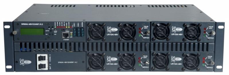Serviço de Retificador para Telecom Alagoas - Sistema Retificador 48v