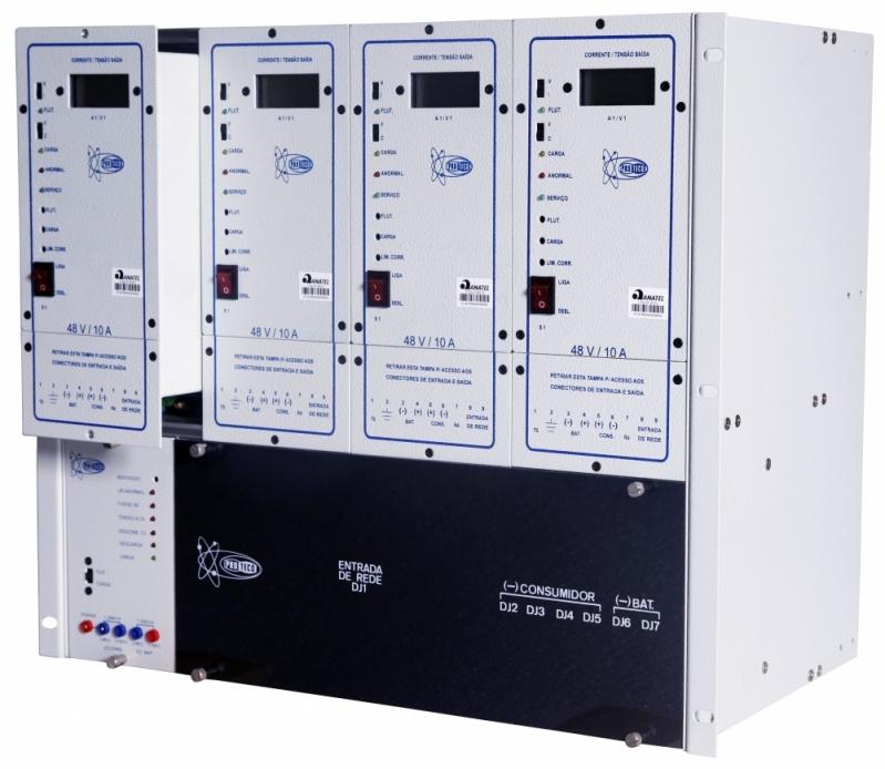 Sistema Retificador Telecom Acre - Unidade Retificadora para Telecom