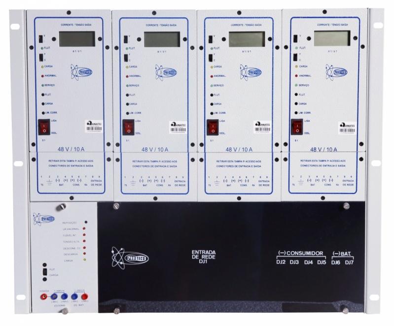 Unidade Retificadora para Telecom Tocantins - Unidade Retificadora para Telecom